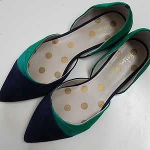 Boden Suede Flats